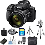 Nikon COOLPIX P900 Digital Camera (Black) [International Version] (Pro Bundle)