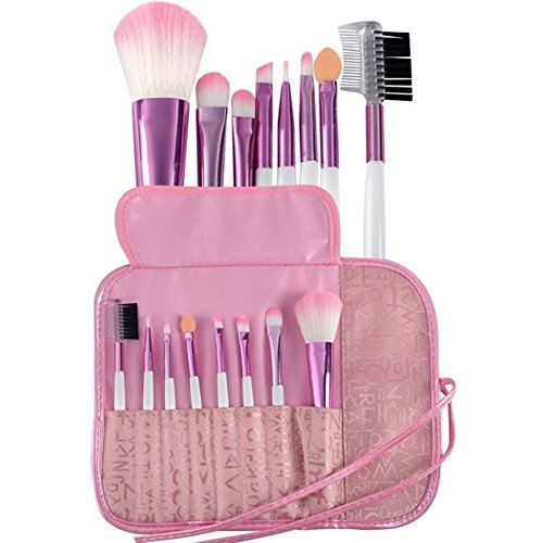 Lisli Pro 8pcs Makeup Brushes Set Powder Foundation Eyeshadow Eyeliner Lip -