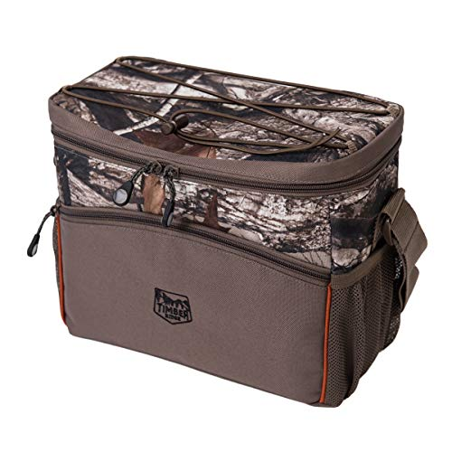 Timber Ridge Cooler 6 and 12 Can Insulated Leakproof Soft Camo Ice Bag for Camping Fishing Hunting Picnic Use