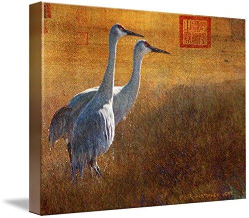 壁アート印刷entitled Sunset In The Marsh / Sandhill Cranes by Rクリストファーベスト 32