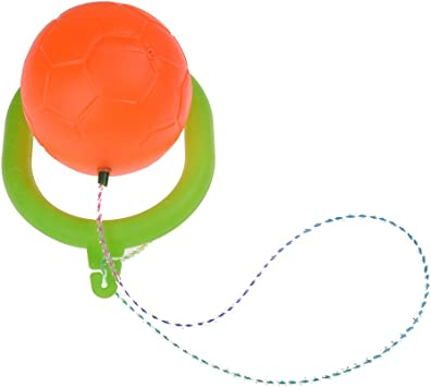 1pc Flashing Jumping Ball Ring Jump Ropes Ankle Skip Ball Sports Dancing Ball Toy Ball Games Exercise Fitness Equipment for Children Kids Adult