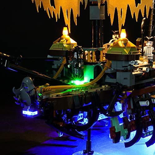 LIGHTAILING Light Set for (Disney Pirates of The Caribbean Silent Mary) Building Blocks Model - Led Light kit Compatible with Lego 71042(NOT Included The Model)