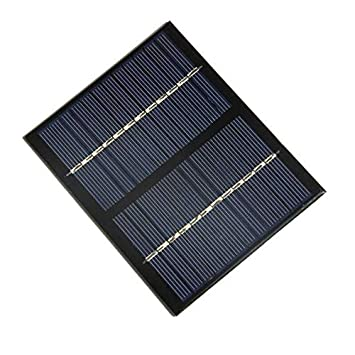 12V 1.5W Panel Solar Universal Policristalino Silicio Batería ...