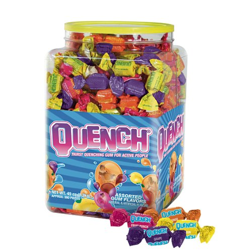 Quench Gum Tub-O-Quench, 49 Ounce (Pack of (Punch Gum)