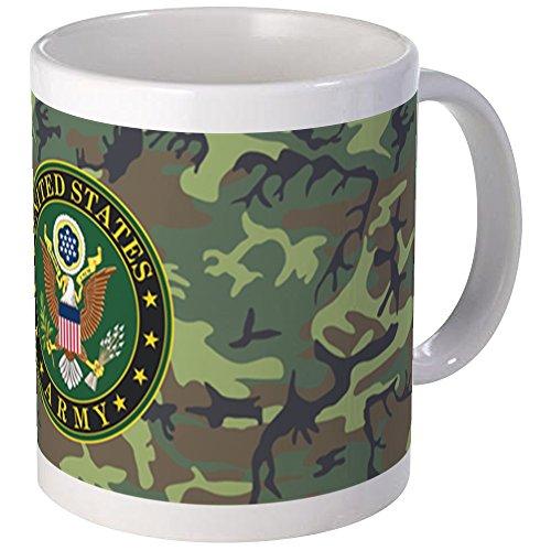 CafePress - US Army Camo Mugs - Unique Coffee Mug, Coffee Cup