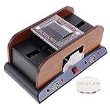 Baoblaze Automatic Card Shuffler 2 Deck Casino Cards Sorter Poker Props with Dealer Durable