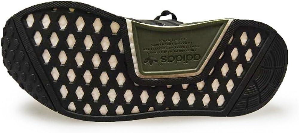 adidas Originals Damen NMD_r1 Turnschuh, Beige/Weiß Green Core Weiß Schwarz Bb1357