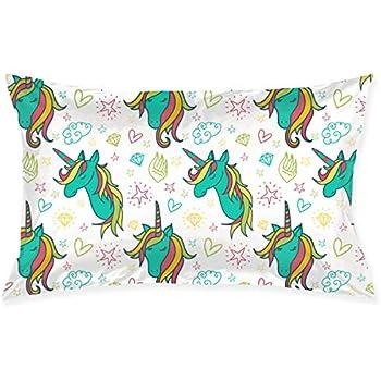 Amazon Com Skyisok Colorful Unicorn Drawings Pattern