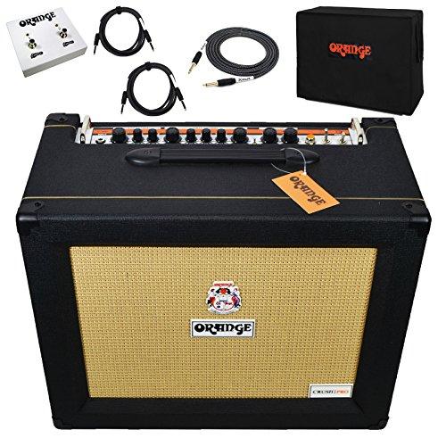 Orange Crush Pro CR120C Black Combo Amp Guitar Amplifier 120 Watts with (Orange Crush Guitar Amp)