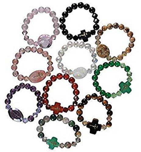 Ring Single Decade (One Single Decade Gemstone Rosary)