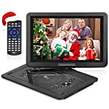 2018 Upgraded DR. J Professional 14.1 inch 7 Hours Portable DVD Player...