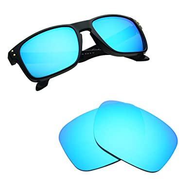 97b1352848 Bnus Replacement Lenses for Oakley Holbrook Sunglasses - 9 Options  Available (Blue MirrorShield- Non
