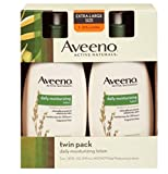 Beauty : Aveeno Active Naturals Daily Moisturizing Lotion, NEW 2 pack of 20 FL oz Pump