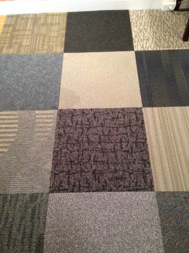 Assorted Carpet Tiles-48 Ft-Random Colors
