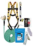 Super Anchor Safety 3200-USA MAX-V Fall Protection Kit, 50'