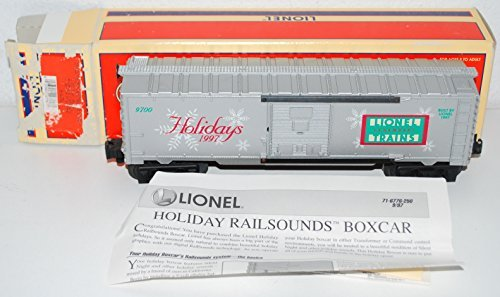 Lionel Trains 6-16776 Holiday Boxcar Christmas Railsounds 1997 TMCC Silent Night