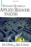 img - for Research Methods in Applied Behavior Analysis by Jon S. Bailey (2002-02-13) book / textbook / text book