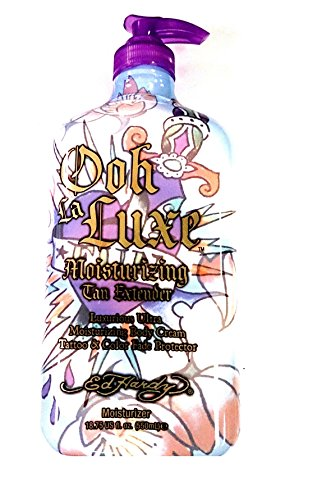 Ed Hardy Ooh La Luxe Moisturizer Tan Extending Moisturizing Lotion 18.75 fl oz (550ml) Bottle