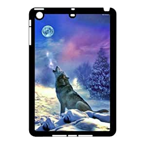 Wolf and moon,smart wolf series protective cover For Ipad Mini Case u-ycq-s54663