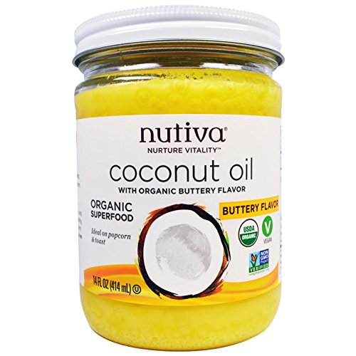 Nutiva Organic Coconut Buttery Flavor product image