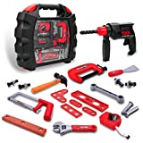 Construction Toys [24 pieces] Toy Choi's Kids Tool Set Toys for Boys, Preschool Educational Learning Toddler Toys
