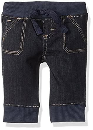 Wrangler Authentics Boys' Jogger Jean, Dark Alloy, NB