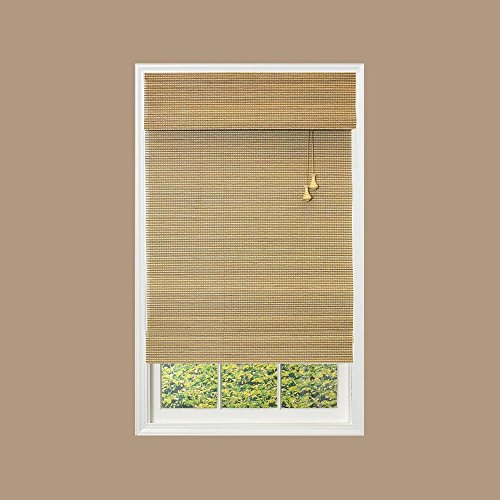 Romana Collection (Home Decorators Collection Natural Multi-Weave Bamboo Roman Shade - 23 in. W x 72 in. L)
