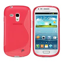Fosmon DURA S Series TPU Case for Samsung Galaxy S III mini / GT-I8190 - Red (Fosmon Retail Packaging)