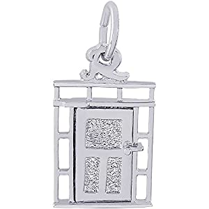 Rembrandt Charms Door Charm  sc 1 st  Amazon.com & Amazon.com: Rembrandt Charms Door Charm Sterling Silver: Bead ...