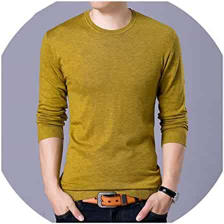 zzhx Mens Knit Sweaters Turtleneck Homme Knitwear Trends Thin Sweater Slim Casual Long Sleeve Pullover