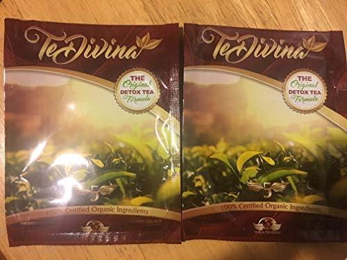 Best Seller Best deal Authentic,In stock, TeDivina 2 packs, 2 weeks supply,coming back of the''original''detox tea, way more effective than iaso tea