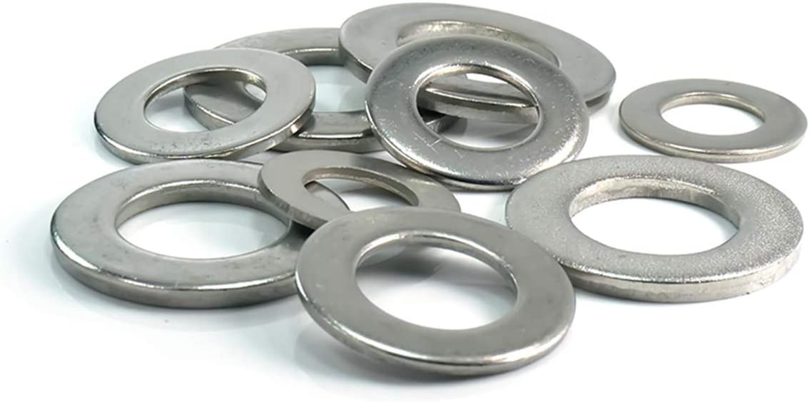 Luchang Arandela plana de acero inoxidable 304 M1,6 M2 M2,5 M3 M4 M5 M6 M8 M10 M12 M14 M16 M18 M20 de acero inoxidable
