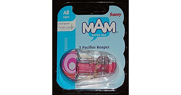 Amazon.com: MAM tendencias Clip para chupete Keeper 1 Pk ...
