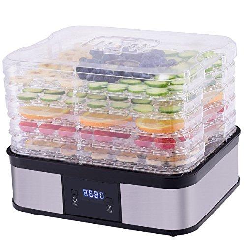 CHEFJOY VD-56445HW 5-Tray Food Dehydrator Preserver Fruit Ve