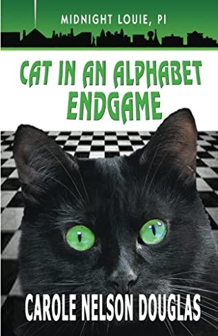 book cover of Cat in an Alphabet Endgame
