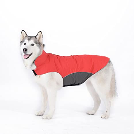 Tuopuda Mascotas Ropa Perro Grande medianos Invierno Calentar Clothes para medianos Grande Perros (3XL,