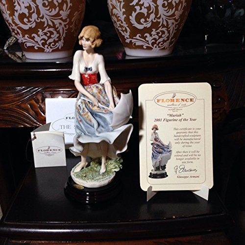 "G.ARMANI FIGURINE ""MARIAH"" 1407C 2001 FIGURINE OF THE for sale  Delivered anywhere in USA"