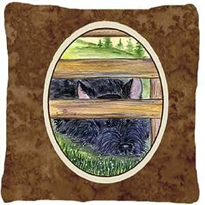 Scottish Terrier decorativo tela almohada
