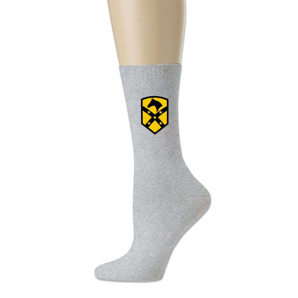 Rigg-socks The 1st Air Cavalry Brigade1 For Men Comfortable Sport Socks Gray
