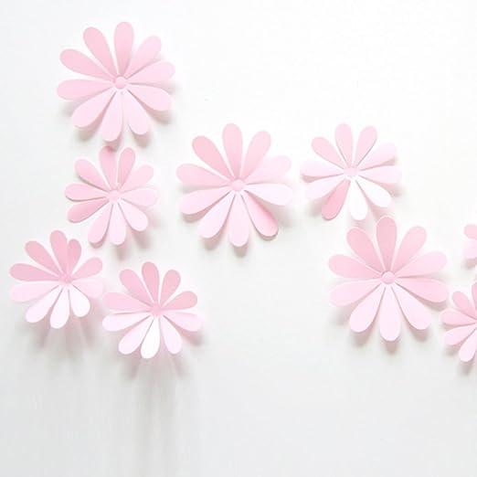 31 opinioni per ufengke® 12 Pezzi 3D Fiori Adesivi Murali Fashion Design DIY Fiori Arte Adesivi