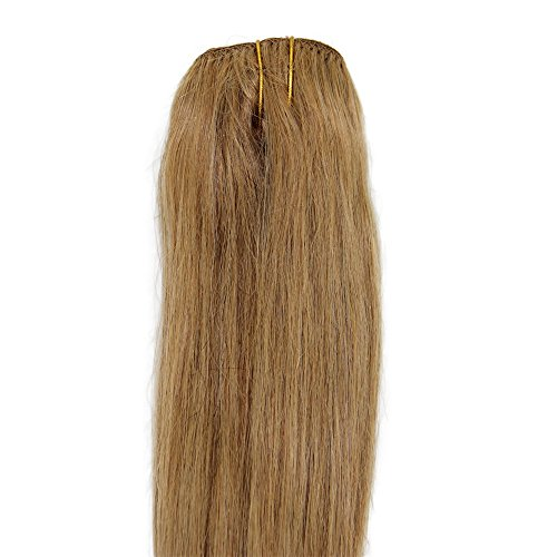 Clip in Real Human Hair Extensions Straight (18