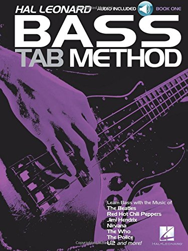 Hal Leonard Bass Tab Method Book/CD ()