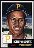 #6: 2018 Topps The Living Set Baseball #76 Roberto Clemente Pittsburgh Pirates Online Exclusive MLB Trading Card SOLD OUT at Topps