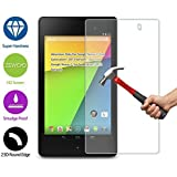 ZeWoo Le Film Protection En Verre Trempé - Pour Asus Google Nexus 7 (Second Generation / 2013 Version) (Non Compatible Avec Google Nexus 7 (First Generation / 2012 Version)) - Le Filtre Protecteur D'écran(9H *2.5D, 0,3mm)