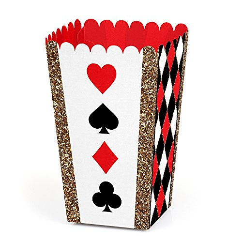 Las Vegas - Casino Party Favor Popcorn Treat Boxes - Set of 12]()