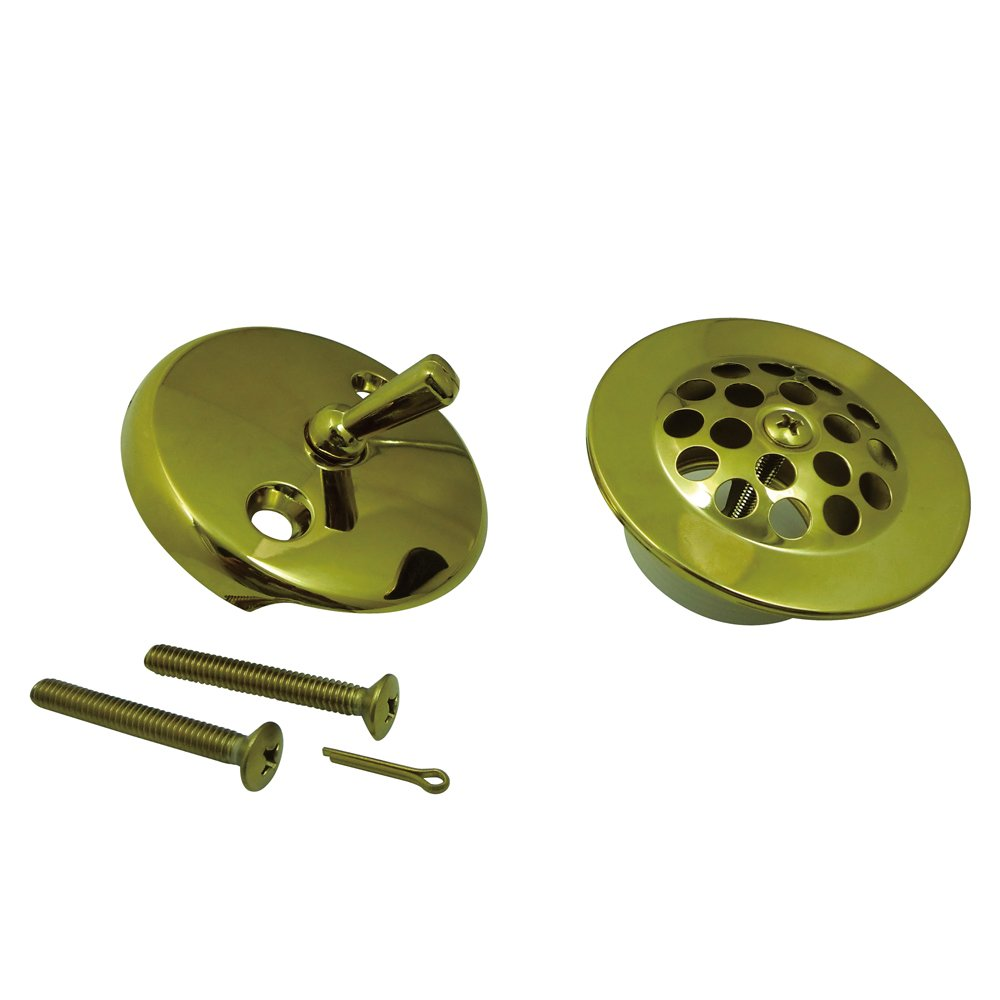 Kingston Brass DTL5305A8 Made to Match Grid Tub Drain Kit Satin Nickel