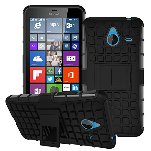 18 opinioni per Voguecase® Per Microsoft Lumia 640 XL,2 in 1 Duro Cover Case Difensore Bumper