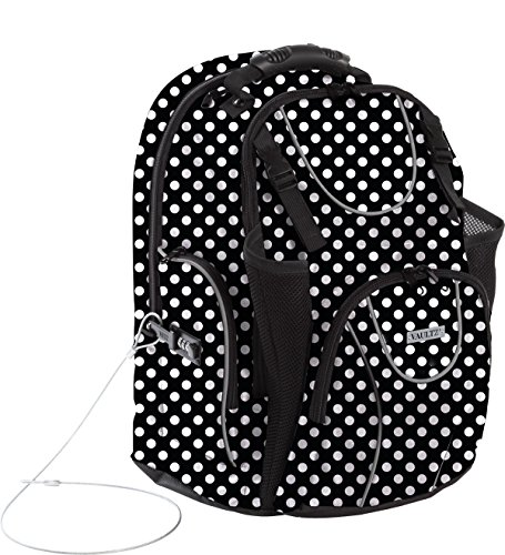 Vaultz Locking Backpack, Fits Laptops up to 16 Inches, 14...