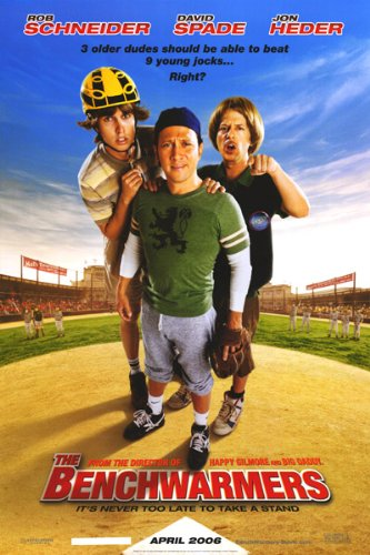 Benchwarmers Original 27 X 40 Theatrical Movie Poster