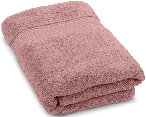 Premium Quality Turkish Bath Towels. Super Soft, Plush and Highly Absorbent. Luxury 100% Ringspun Cotton 30x56 inches Large Bath Towels for Bathroom, Gym, and Pool.By Maura (Rose (Rose Towel Set)